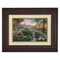 Image of ''101 Dalmatians'' Framed Limited Edition Canvas by Thomas Kinkade Studios # 1