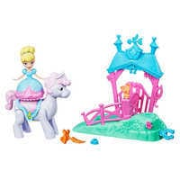 Image of Cinderella Magical Movers Pony Ride Stable Playset # 1