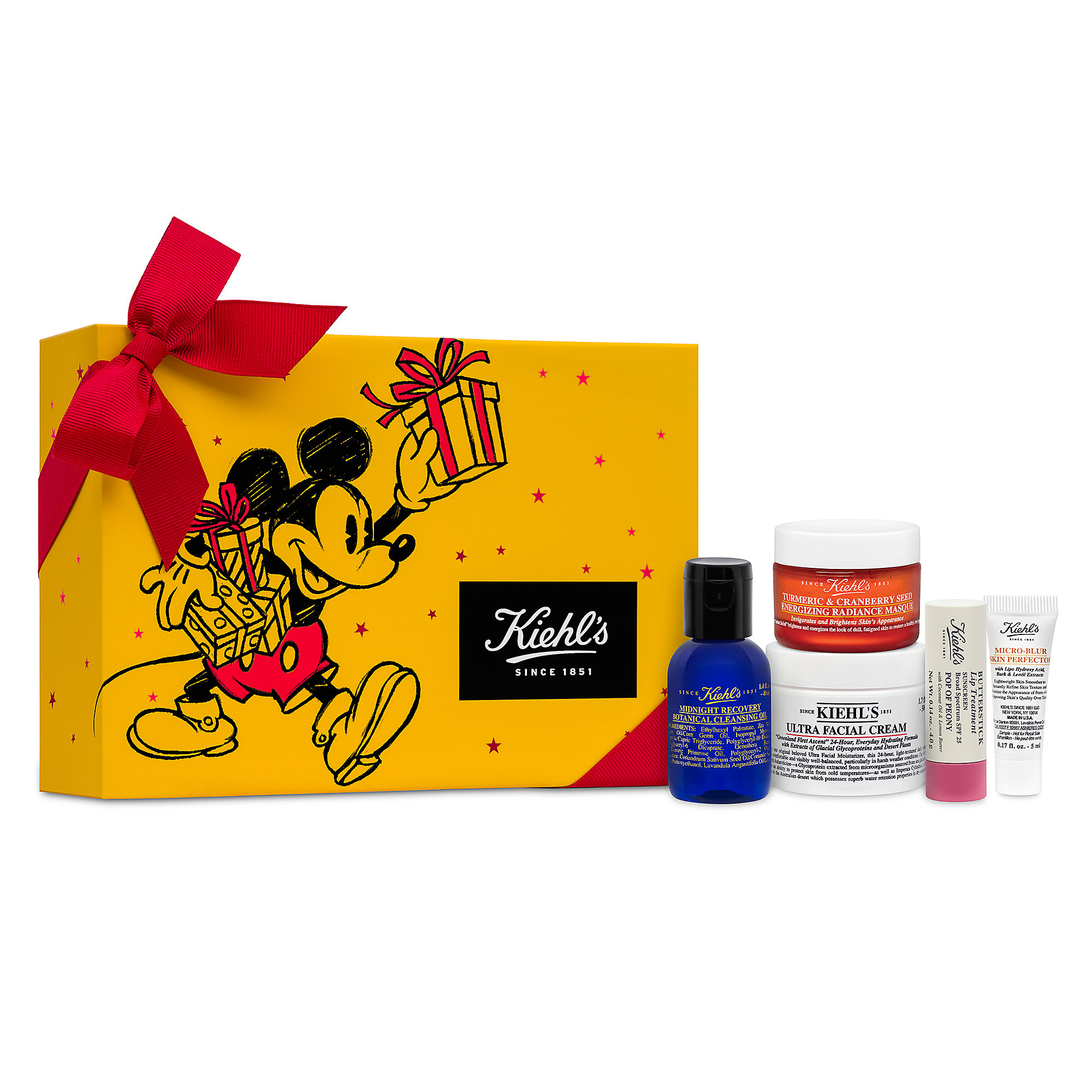 Mickey Mouse Merry and Bright Set by Kiehl's