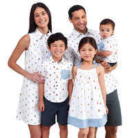 Image of Mickey and Minnie Mouse Summer Fun Fashion Collection for Family # 1