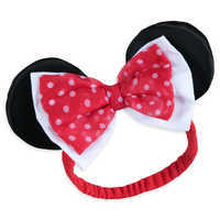 Image of Minnie Mouse Costume Bodysuit for Baby - Red - Personalizable # 4