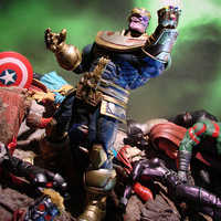 Image of Thanos Action Figure by Marvel Select - 7'' # 2