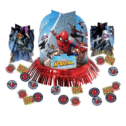 Spider-Man Webbed Wonder Table Decorating Kit