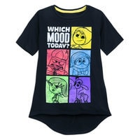 Image of Inside Out ''Which Mood Today?'' T-Shirt for Girls # 1