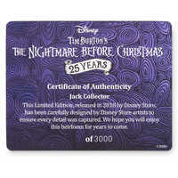 Image of Jack Skellington 25th Anniversary Limited Edition Doll - The Nightmare Before Christmas # 4