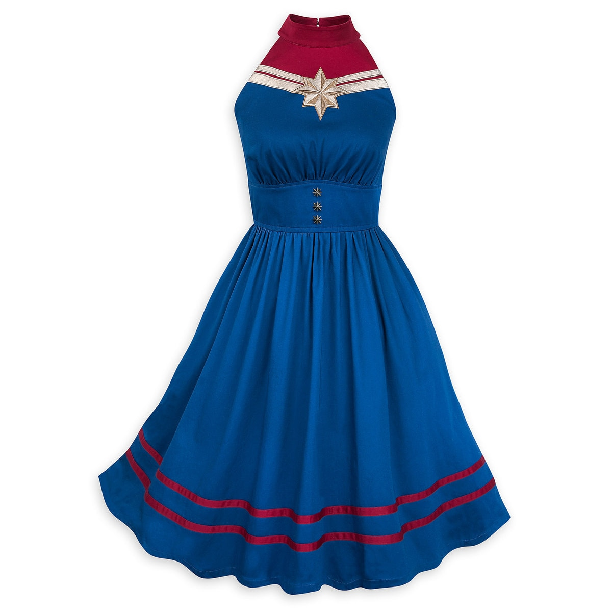 4b1d2f9c72 Product Image of Marvel's Captain Marvel Dress for Women by Her Universe # 1