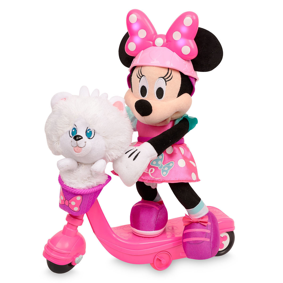 minnie mouse sing spin scooter shopdisney