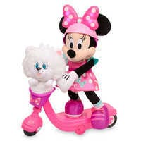 Image of Minnie Mouse Sing & Spin Scooter # 1