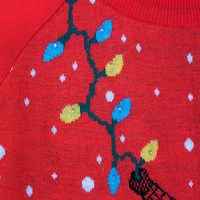 Image of Spider-Man Light-Up Holiday Sweater for Adults # 6