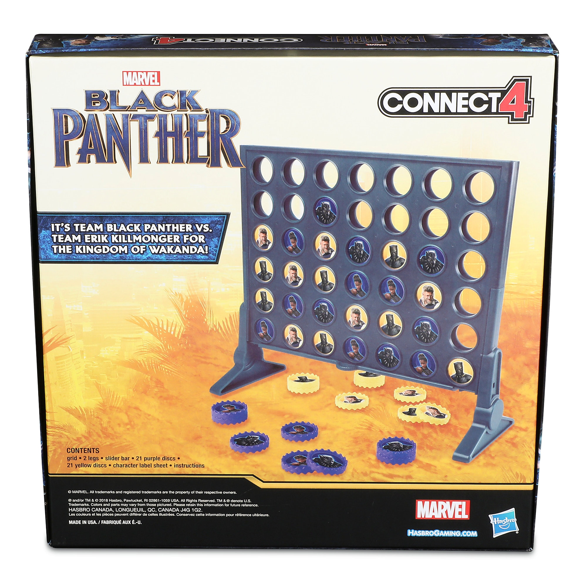 Black Panther Connect 4 Game
