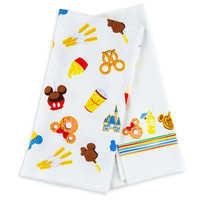 Image of Disney Parks Food Icons Kitchen Towel Set # 1