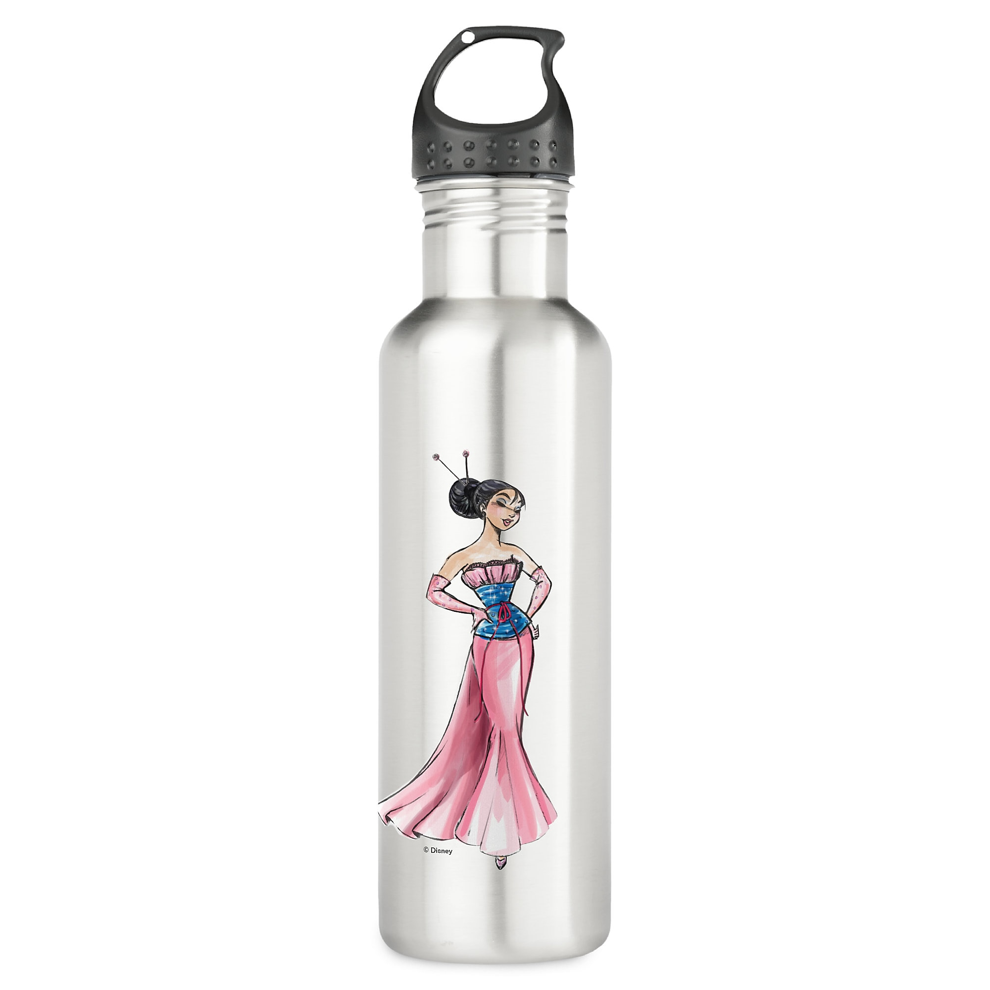 Mulan Water Bottle - Art of Princess Designer Collection