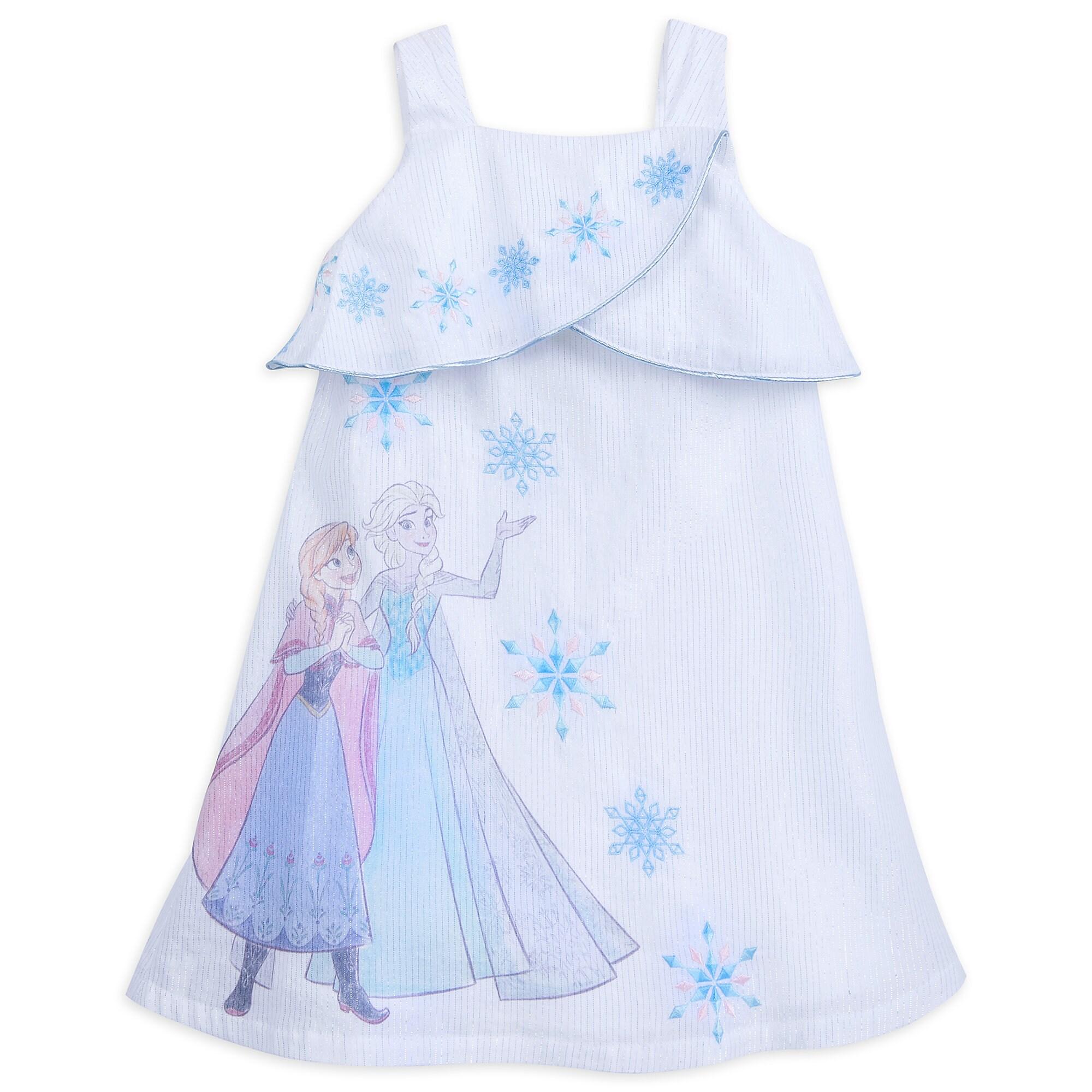 Frozen Cold Shoulder Dress for Girls