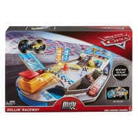 Image of Cars Rollin' Raceway Playset by Mattel # 8