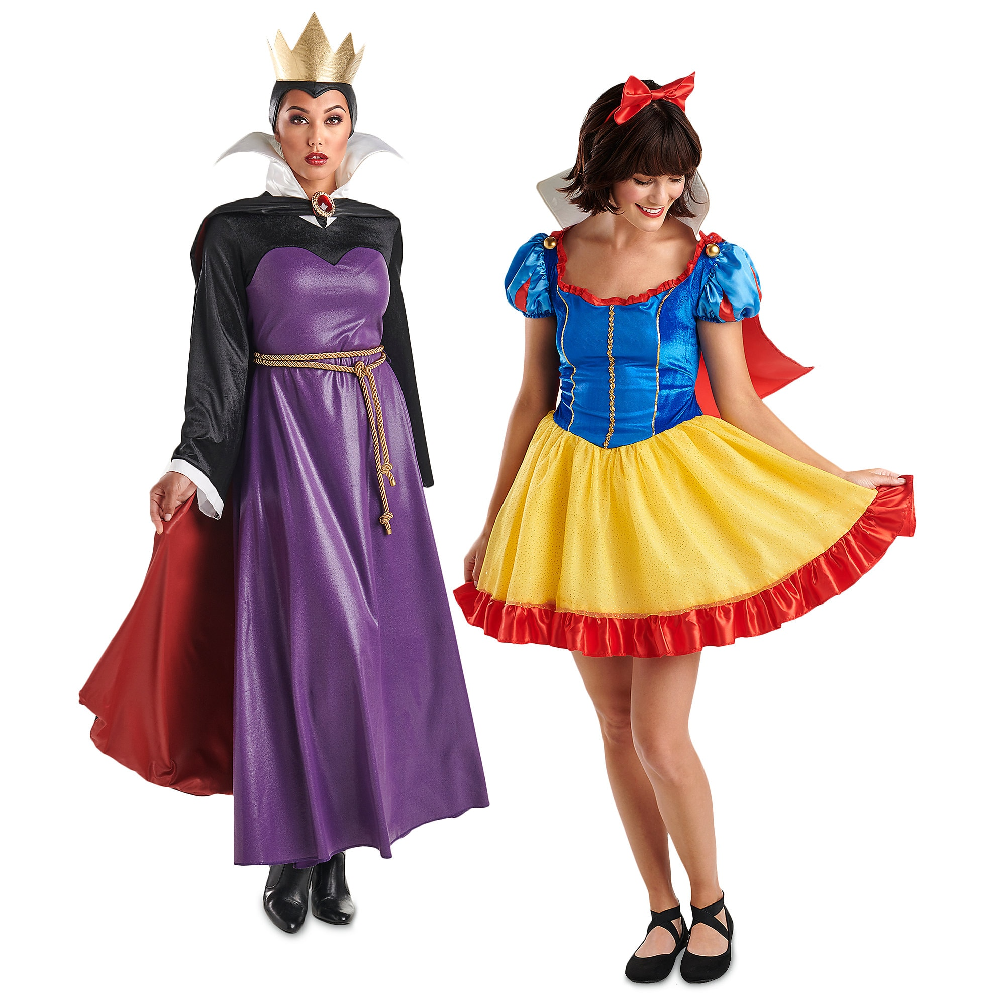 Snow White and Evil Queen Costume Collection for Adults