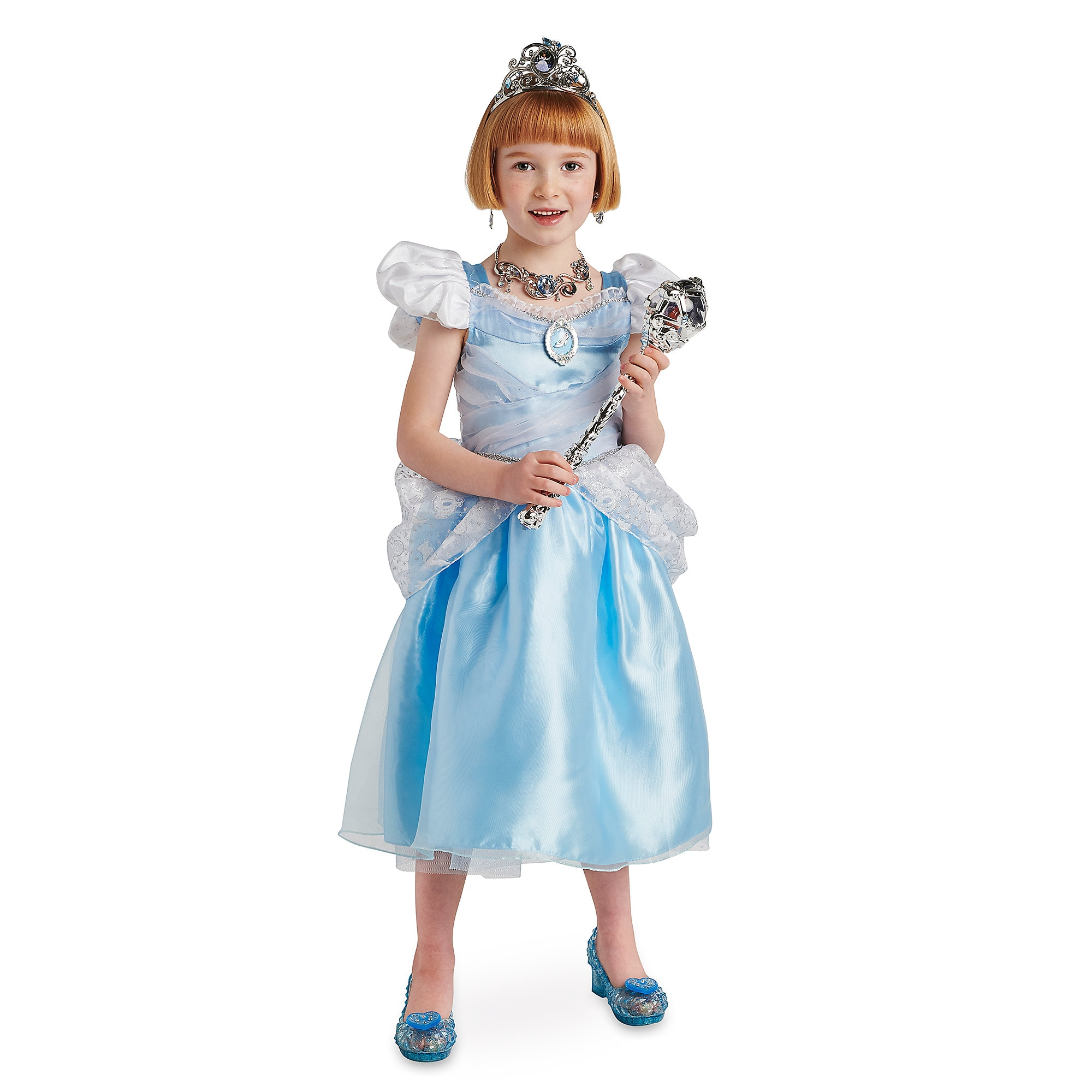 Exceptional Product Image Of Cinderella Costume Collection For Kids # 1