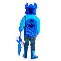 Image of Stitch Packable Rain Jacket and Attached Carry Bag for Kids # 4