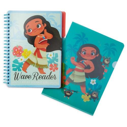Moana Notebook and Folder Set