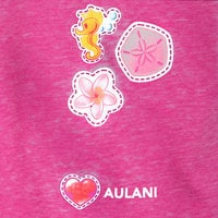 Image of Mickey and Minnie Mouse Emoji T-Shirt for Girls - Aulani, A Disney Resort & Spa # 2