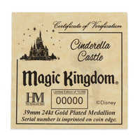 Image of Walt Disney World Cinderella Castle Coin - Limited Edition # 4