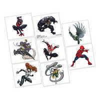 Image of Spider-Man Webbed Wonder Tattoos # 1