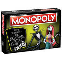 Image of The Nightmare Before Christmas 25th Anniversary Monopoly Game # 3