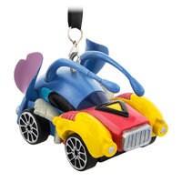 Stitch Racer Ornament