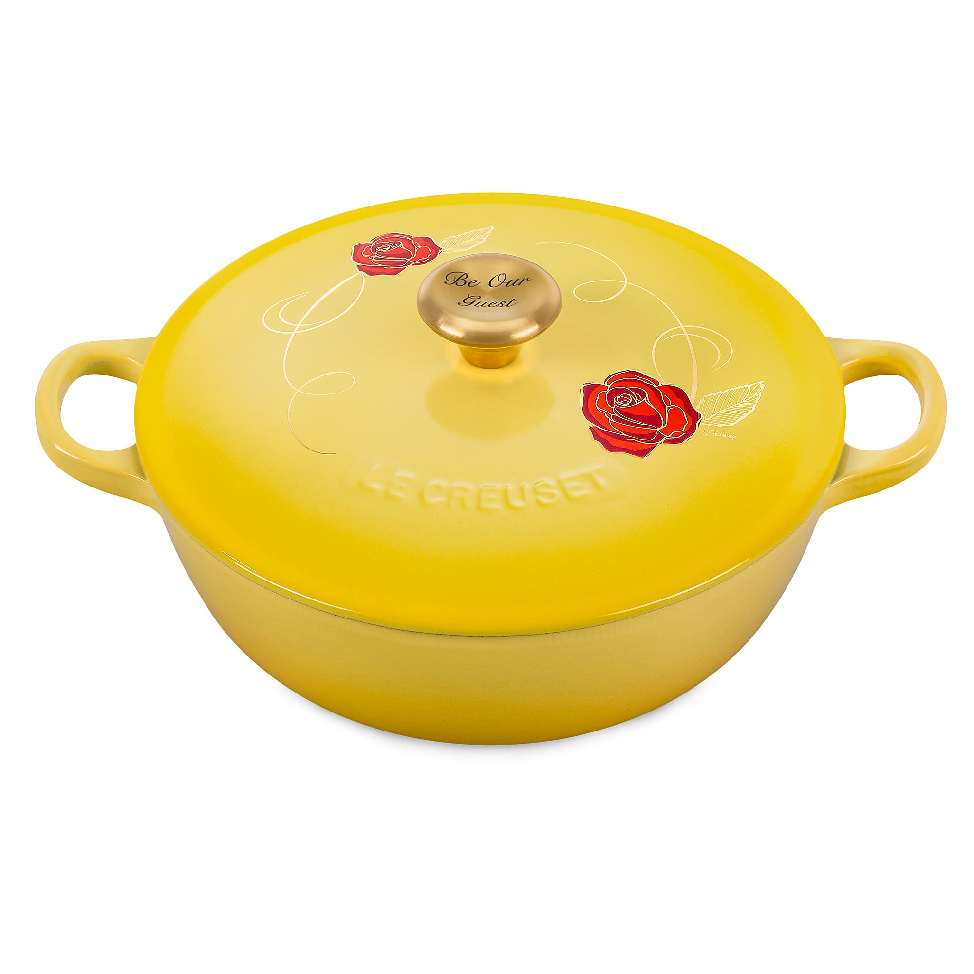 Beauty and the Beast Soup Pot - Le Creuset