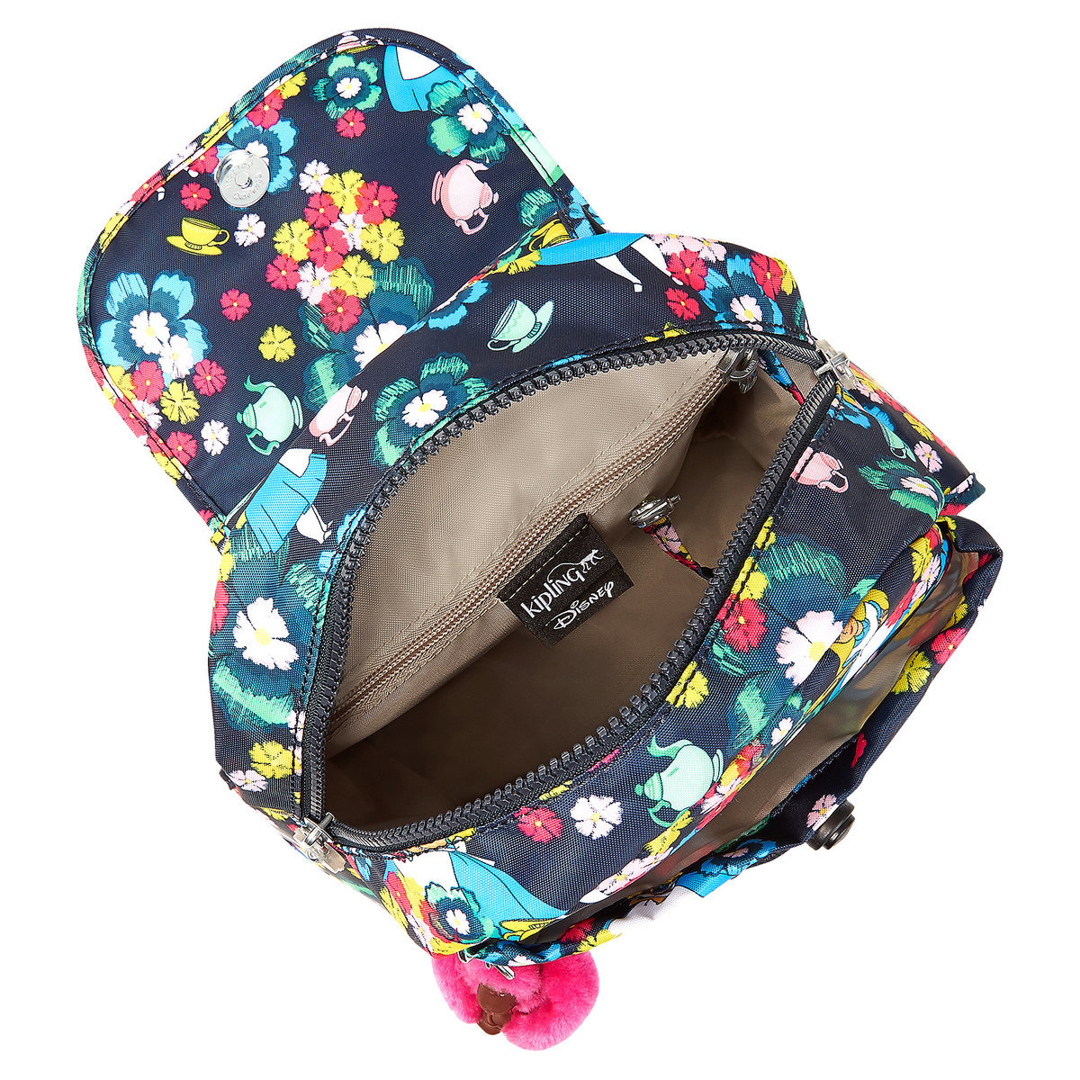 170fc58cd17 Alice in Wonderland Fashion Backpack by Kipling - Small