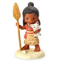 Image of Moana and Pua Figurine by Precious Moments # 1