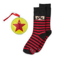 Image of Edna Mode Holiday Socks in Ornament for Adults - Incredibles 2 # 1