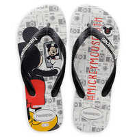 Image of Mickey Mouse Selfie Flip Flops for Adults by Havaianas - 2010s # 1