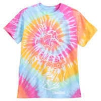 Image of Minnie Mouse Tie-Dye T-Shirt for Adults - Disneyland # 1