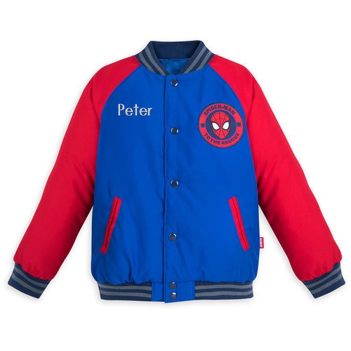 Spider-Man Varsity Jacket for Boys ? Personalizable