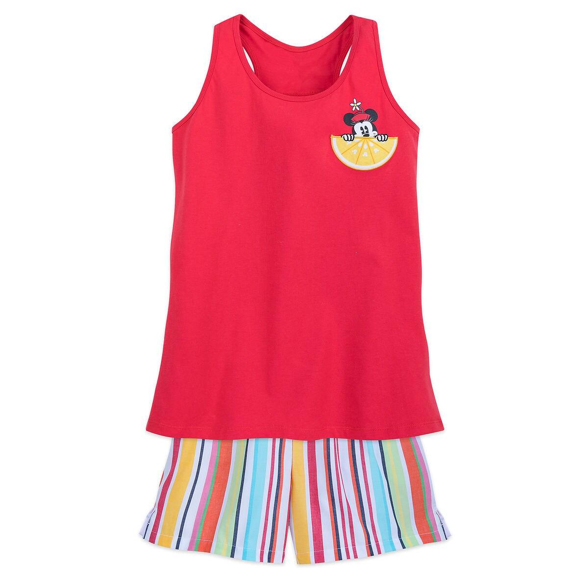 Minnie Mouse Summer Fun Pajama Set for Women - Minnie Family ...