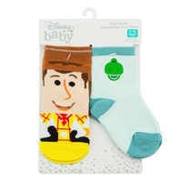Image of Woody and Rex Socks Set for Baby - Toy Story # 2