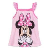 Image of Minnie Mouse Pink Short Sleep Set for Girls # 2