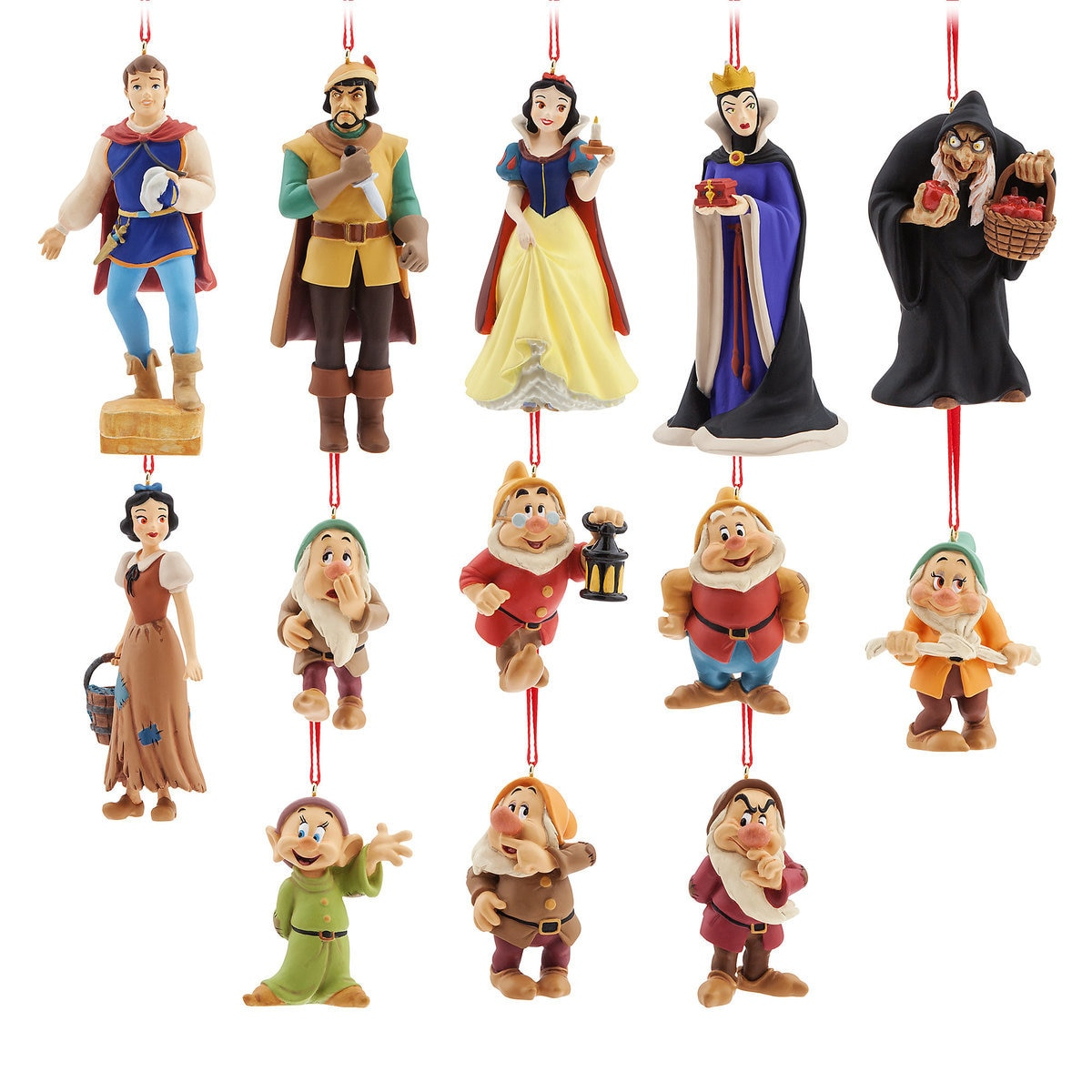 Shop Disney Art of Snow White Christmas Ornament Set Limited Edition ...