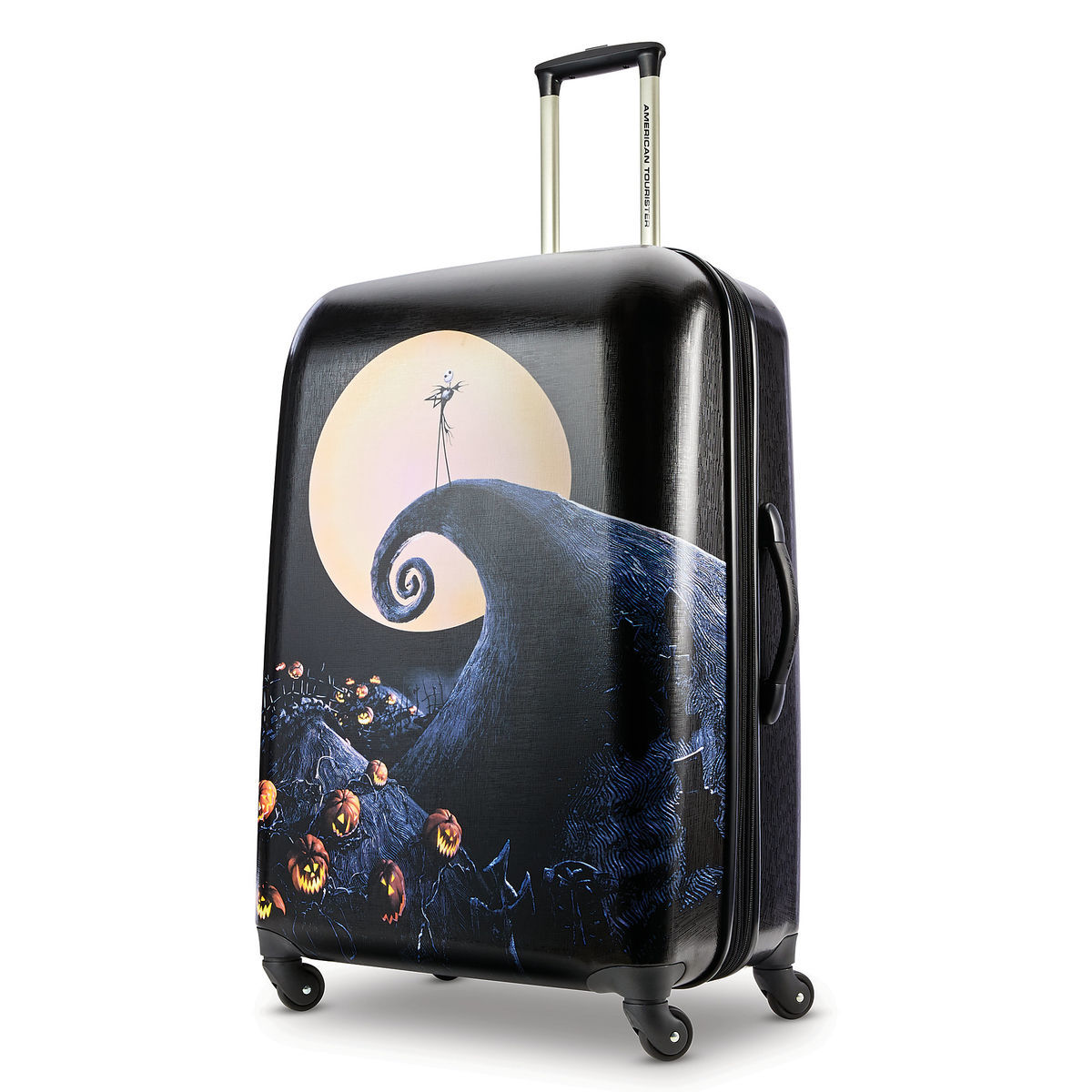 Jack Skellington Spiral Hill Rolling Luggage by American Tourister ...