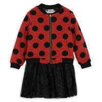 Image of Minnie Mouse Polka Dot Jacket and Dress Set by Pippa & Julie # 1