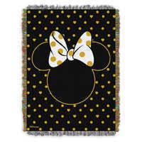 Image of Minnie Mouse Icon Woven Tapestry Throw # 1