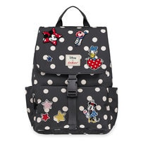Mickey Mouse and Friends Buckle Backpack by Cath Kidston