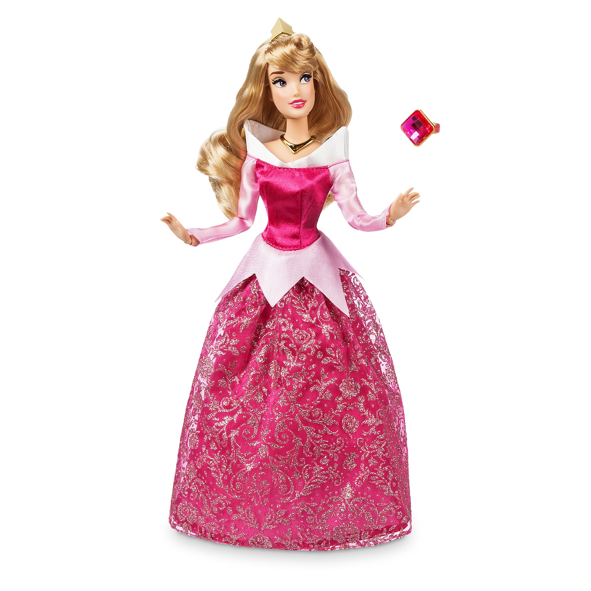 Aurora Classic Doll with Ring - Sleeping Beauty - 11 1/2''