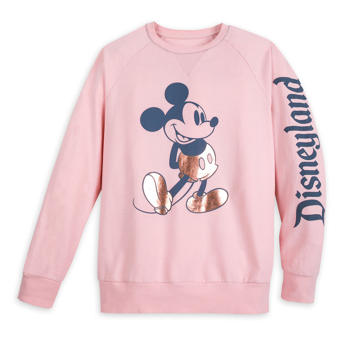 innovative design a6104 34377 Product Image of Mickey Mouse Sweatshirt for Adults - Disneyland - Briar  Rose Gold   1