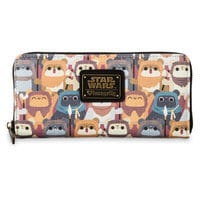 Image of Ewok Wallet by Loungefly - Star Wars # 1