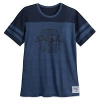 Mickey Mouse Steamboat Willie Football T-Shirt for Men - Disney Cruise Line 2018