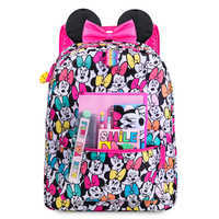 Image of Minnie Mouse Rainbow Backpack - Personalizable # 4