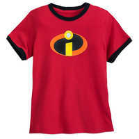 Image of Incredibles Logo Ringer T-Shirt for Boys # 1