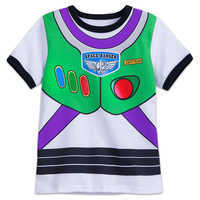 Image of Buzz Lightyear Costume T-Shirt for Kids # 1