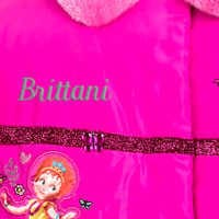 Image of Fancy Nancy Puffy Jacket for Kids - Personalizable # 9